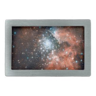 Star Cluster In The Milky Way Rectangular Belt Buckle