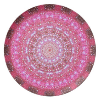 Star Cluster Mandala Dinner Plate