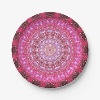 Star Cluster Mandala Paper Plate
