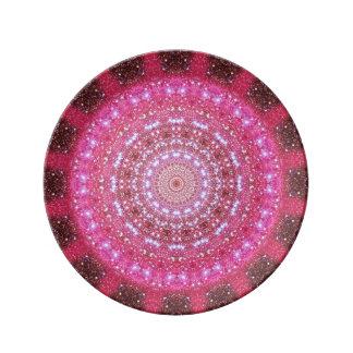 Star Cluster Mandala Porcelain Plate