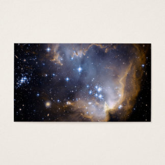 Star Cluster N90 Hubble Space Business Card