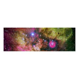 Star Cluster Nebula NGC 2467 Mini Business Card