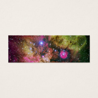 Star Cluster Nebula NGC 2467 Mini Business Card