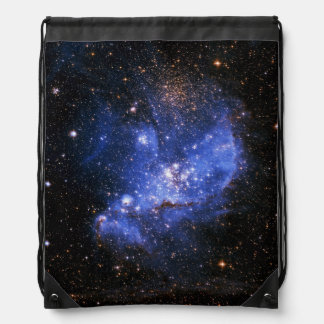 STAR CLUSTER NGC346 (deep outer space) ~~ Drawstring Backpack
