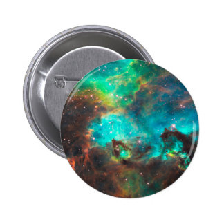 Star Cluster NGC 2074 2 Inch Round Button