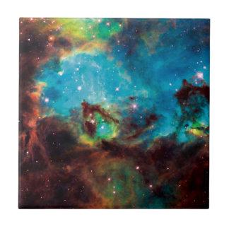 Star Cluster NGC 2074 Ceramic Tile