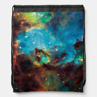 Star Cluster NGC 2074 Drawstring Bag