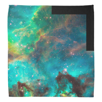 Star Cluster NGC 2074 in the Large Magellanic Clou Bandana