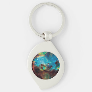 Star Cluster NGC 2074 Keychain