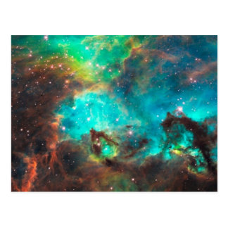 Star Cluster NGC 2074 Postcard