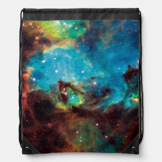 Star Cluster NGC 2074 Tarantula Nebula Space Photo Drawstring Bag