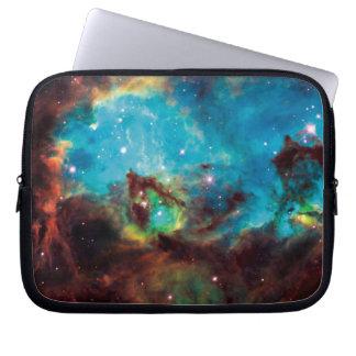 Star Cluster NGC 2074 Tarantula Nebula Space Photo Laptop Sleeve