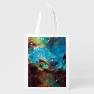 Star Cluster NGC 2074 Tarantula Nebula Space Photo Reusable Grocery Bag