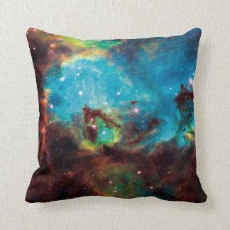 Star Cluster NGC 2074 Tarantula Nebula Space Photo Throw Pillow