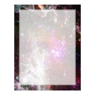 Star Cluster NGC 281 Pacman Nebula Letterhead