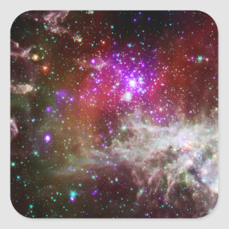Star Cluster NGC 281 Pacman Nebula Stickers