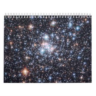 Star Cluster NGC 290 Wall Calendar
