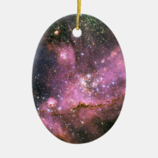 Star Cluster NGC 346 Hubble Space Ceramic Ornament