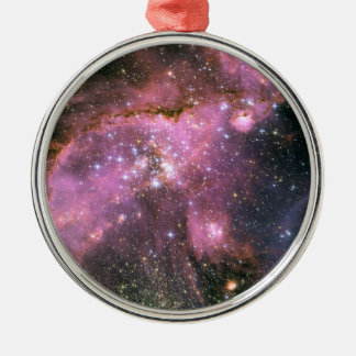 Star Cluster NGC 346 Hubble Space Metal Ornament