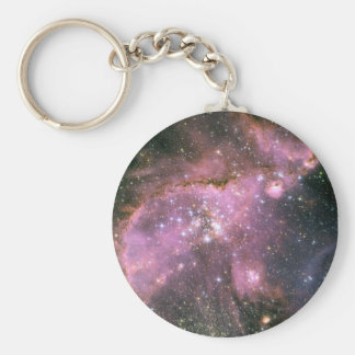 Star Cluster NGC 346 Keychain