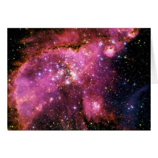 STAR CLUSTER NGC-346 (outer space) ~ Card
