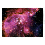 STAR CLUSTER NGC-346 (outer space) ~ Greeting Card