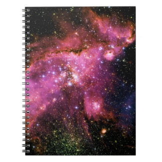 STAR CLUSTER NGC-346 (outer space) ~ Notebook