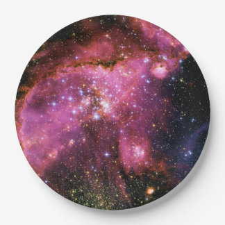 STAR CLUSTER NGC-346 (outer space) ~ Paper Plate