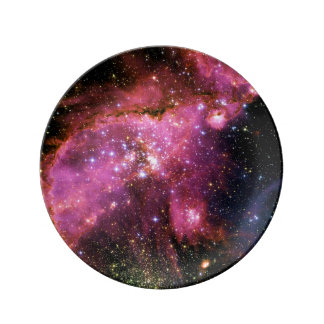 STAR CLUSTER NGC-346 (outer space) ~ Porcelain Plate