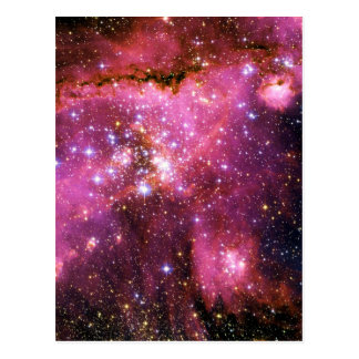 STAR CLUSTER NGC-346 (outer space) ~ Postcard