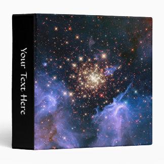 Star Cluster NGC 3603 (Hubble) Vinyl Binder