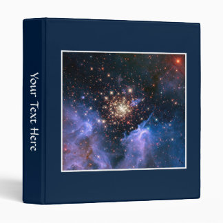 Star Cluster NGC 3603 (Hubble) 3 Ring Binder