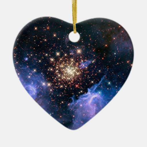 Star Cluster NGC 3603 (Hubble) Christmas Ornaments
