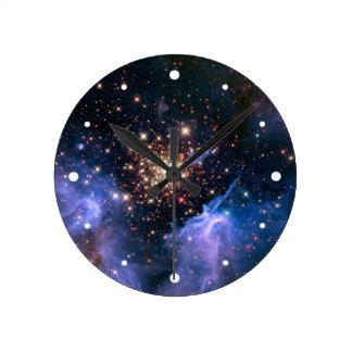 Star Cluster NGC 3603 (Hubble) Wallclocks