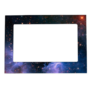 Star Cluster NGC 3603 Hubble Frame Magnet