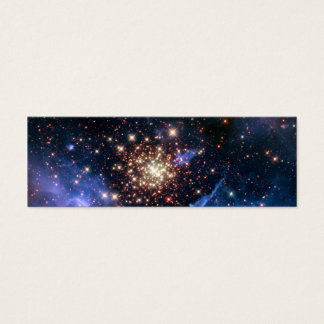 Star Cluster NGC 3603 (Hubble) Mini Business Card