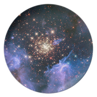 Star Cluster NGC 3603 Hubble Plate