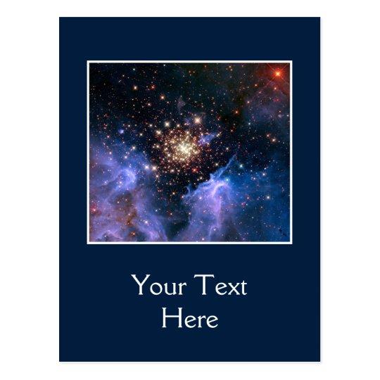 Star Cluster NGC 3603 (Hubble) Postcard