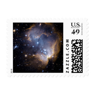 STAR CLUSTER (outer space) ~.jpg Postage Stamp