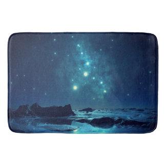 Star Cluster over Ocean Bathroom Mat