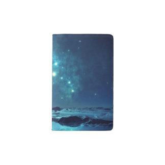 Star Cluster over Ocean Pocket Moleskine Notebook