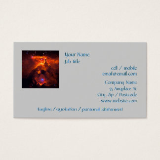 Star Cluster Pismis 24, core of NGC 6357 Business Card