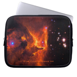 Star Cluster Pismis 24, core of NGC 6357 Laptop Sleeve