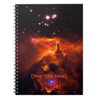 Star Cluster Pismis 24, core of NGC 6357 Note Book