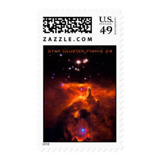 Star Cluster Pismis 24, core of NGC 6357 Postage