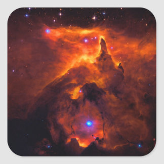 Star Cluster Pismis 24, core of NGC 6357 Square Sticker