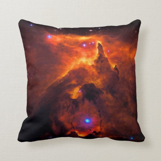 Star Cluster Pismis 24, core of NGC 6357 Throw Pillow