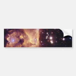 Star Cluster Pismis 24 in Emission Nebula NGC 6357 Car Bumper Sticker