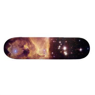 Star Cluster Pismis 24 in Emission Nebula NGC 6357 Custom Skate Board