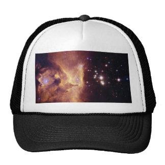 Star Cluster Pismis 24 in Emission Nebula NGC 6357 Trucker Hat